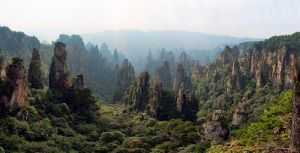 Tianzishan, wulingyuan, zhangjiajie, paysage de Chine