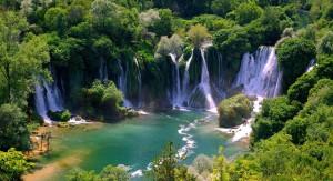 Chutes de Kravice, paysage de Bosnie Herzegovine