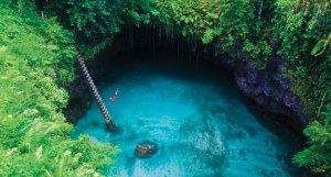 ToSua, paysage îles Samoa