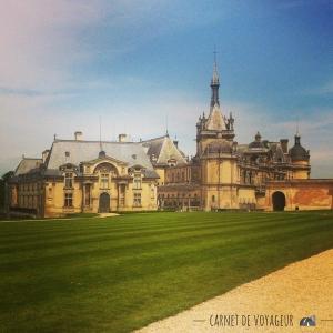 chateau chantilly exterieur 2